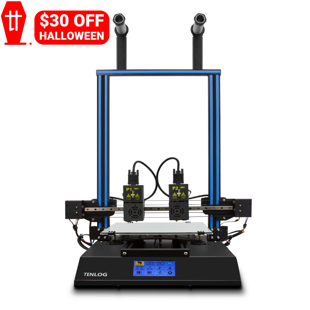 US $30 OFF Tenlog TL-D3 Pro Dual Extruder 3D Printer