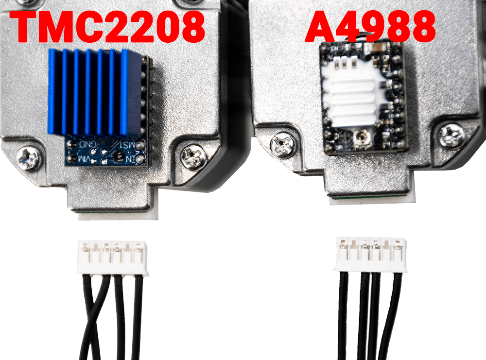 Wire Sequence of TMC2208 and A4988