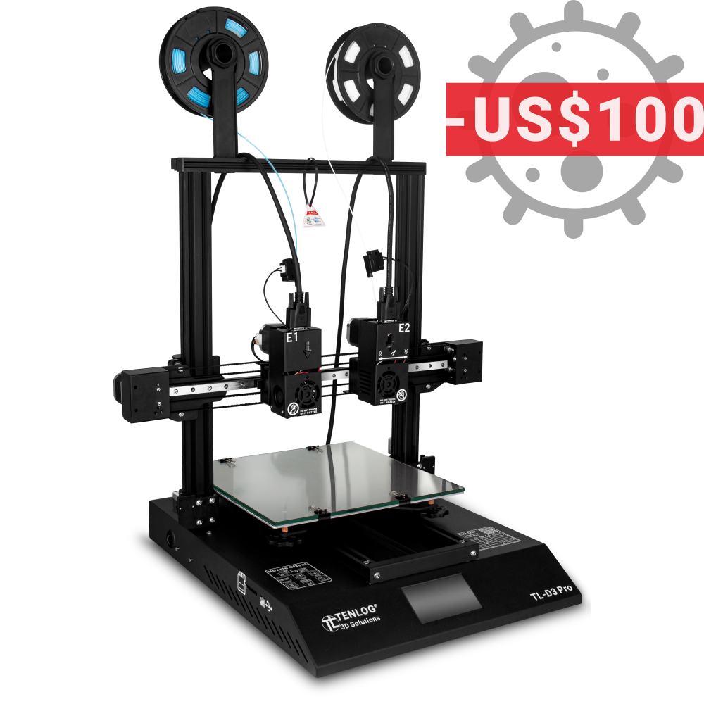 Fighting covid-19 tl-d3 pro $ 100 de descuento para usa tenlog 3d stand with you!